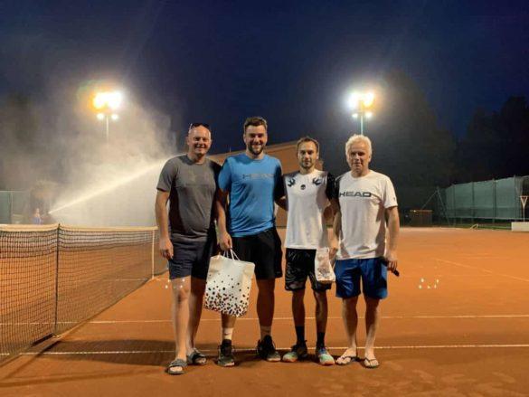 Z leve: Ivan Gabrič, Miha Povhe, David Južnič, Renato Južnič.