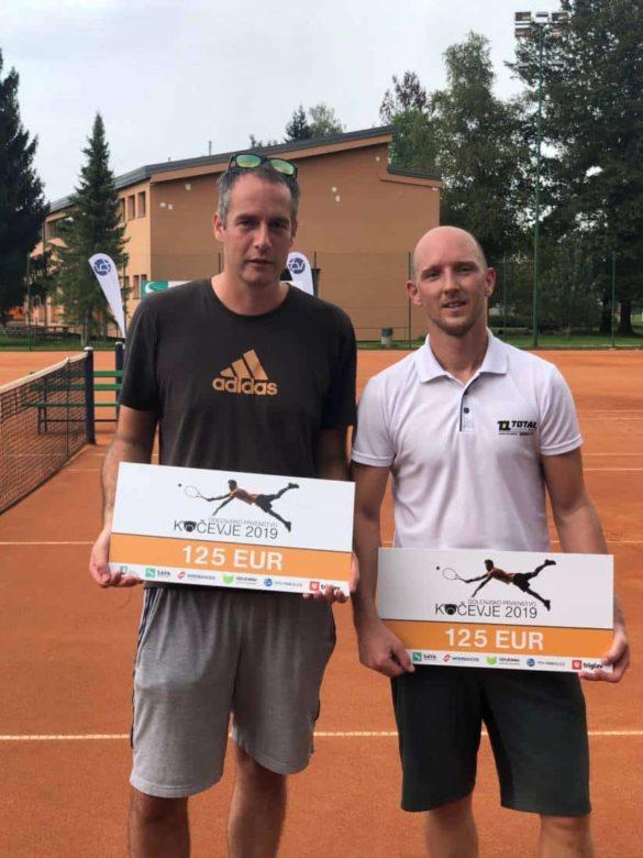 Z leve: Simon Kersnič in Simon Deželan.